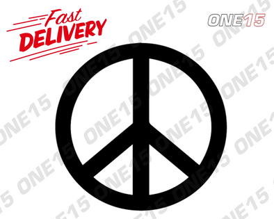 PEACE SIGN VINYL PAINTING STENCIL SIZE PACK *HIGH QUALITY*