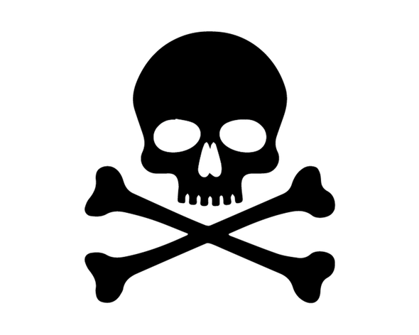 SKULL AND BONES DECAL VINYL PAINTING STENCIL PACK *HIGH QUALITY*