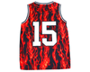 SPELL OUT FLAME JERSEY