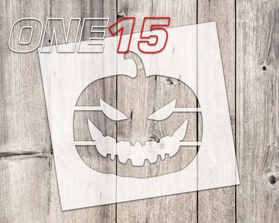 Halloween Pumpkin mylar stencil | reusable | for wood food t shirt shoes painting airbrushing | food safe | diy crafting