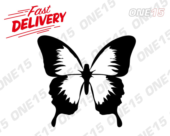 BUTTERFLY 2 VINYL PAINTING STENCIL *HIGH QUALITY*