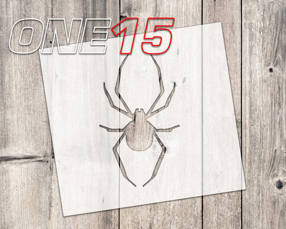 Spider mylar stencil | reusable | for wood food t shirt shoes painting airbrushing | food safe | diy crafting