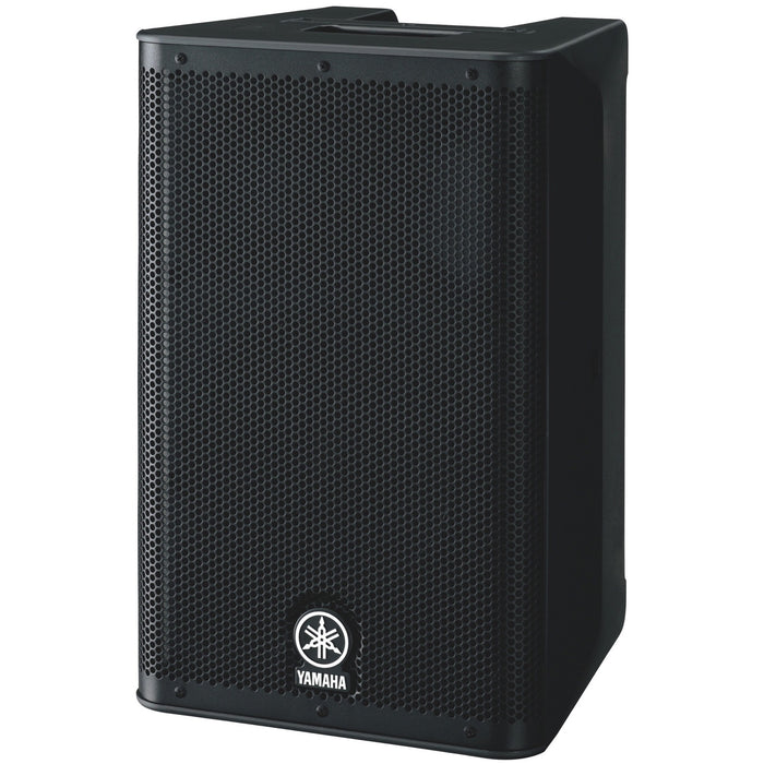 Yamaha DXR-8 2-Way Powered Loudspeaker Side