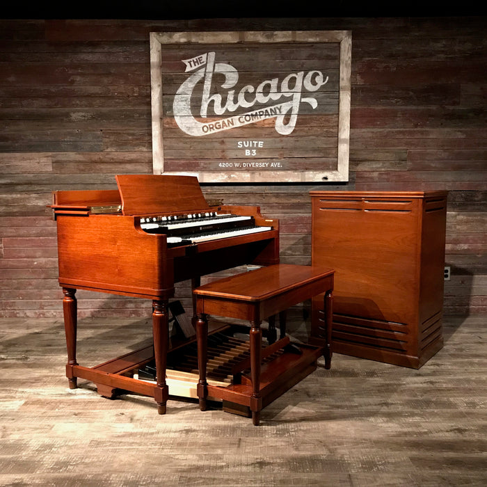 Hammond Vintage 1969 B-3 Organ & Leslie 122 Speaker View 3