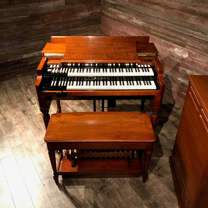 Hammond Vintage 1969 B-3 Organ & Leslie 122 Speaker View 4