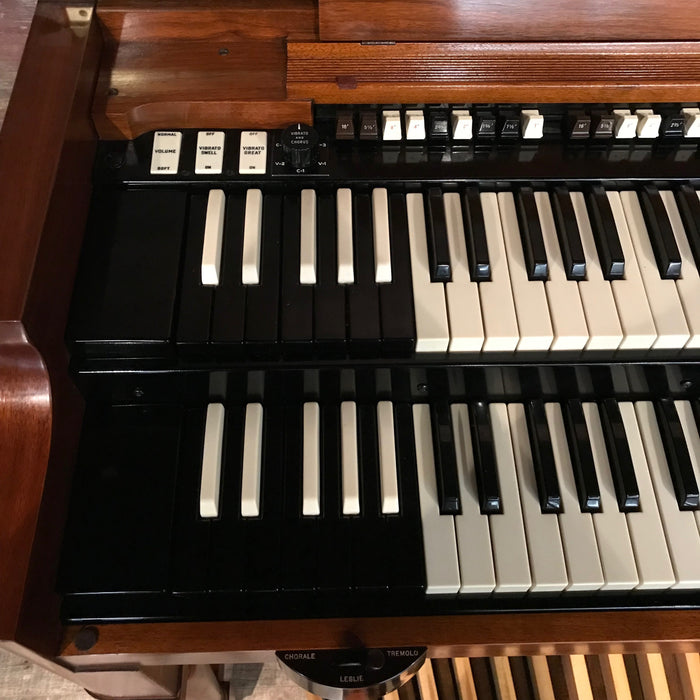 Hammond Vintage 1969 B-3 Organ & Leslie 122 Speaker View 10