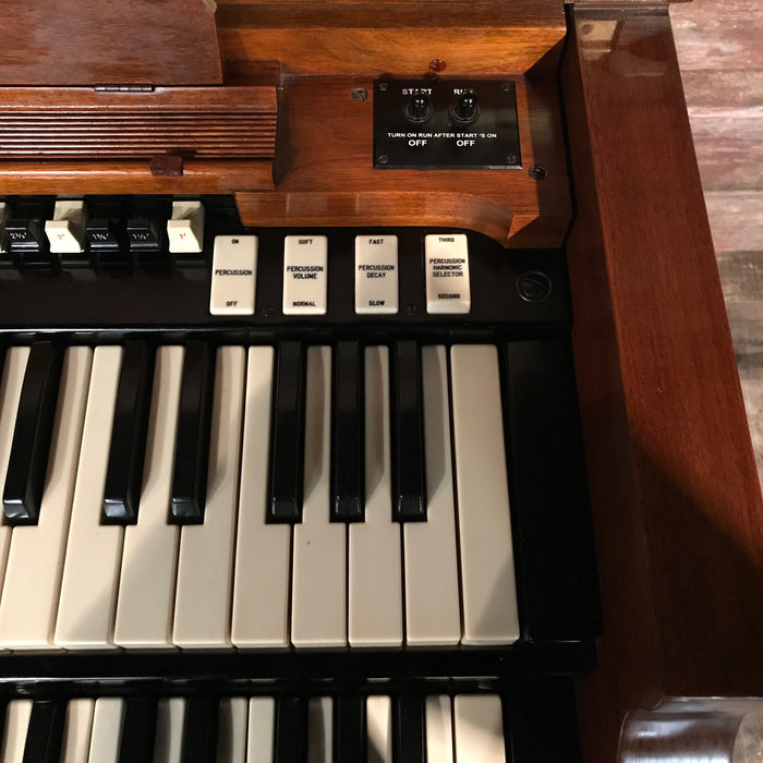 Hammond Vintage 1969 B-3 Organ & Leslie 122 Speaker View 11