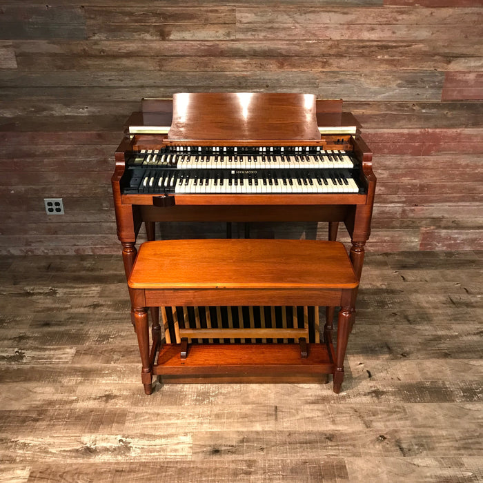 Hammond Vintage 1969 B-3 Organ & Leslie 122 Speaker View 13