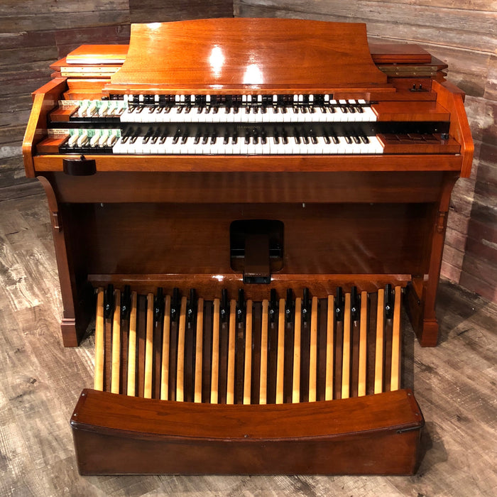 Hammond RT3 Organ (1960) - Red Mahogany and Leslie 122 Speaker - Walnut View 4