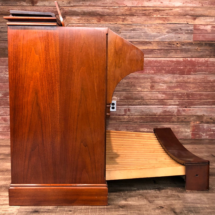 Hammond RT3 Organ (1960) - Red Mahogany and Leslie 122 Speaker - Walnut View 5