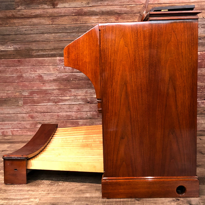 Hammond RT3 Organ (1960) - Red Mahogany and Leslie 122 Speaker - Walnut View 6