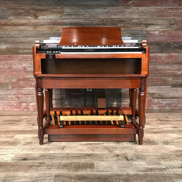 Hammond Vintage (1957) B-3 Organ and Leslie Type 122 Rotary Speaker - Red Mahogany View 7