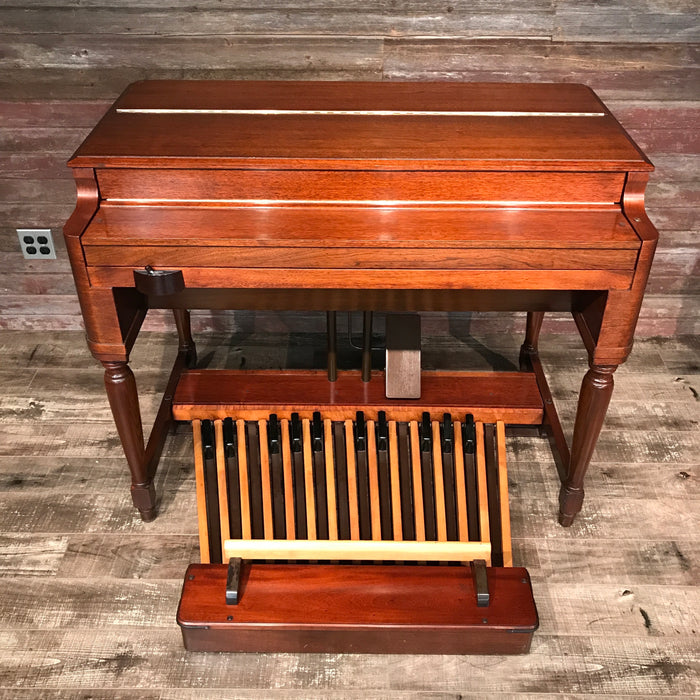 Hammond Vintage (1957) B-3 Organ and Leslie Type 122 Rotary Speaker - Red Mahogany View 3