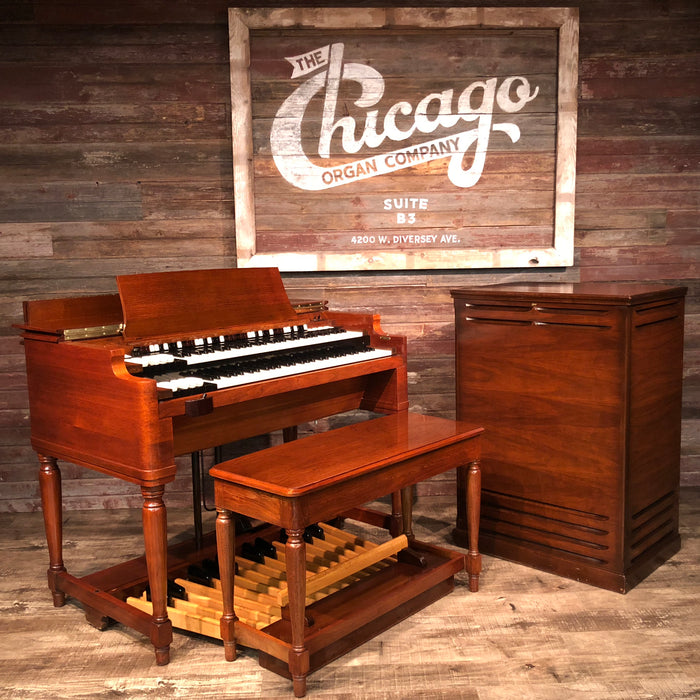 Hammond Vintage (1958) B-3 Organ and Leslie Type 122 Rotary Speaker The Chicago Organ Company