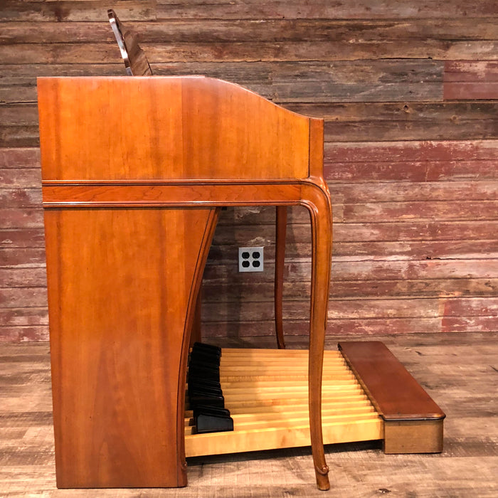 Hammond Vintage (1962) A-102 Organ and Leslie Type 142 Rotary Speaker - Cherry View 5