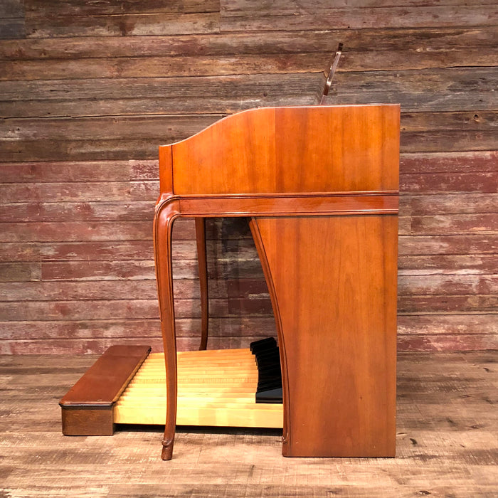 Hammond Vintage (1962) A-102 Organ and Leslie Type 142 Rotary Speaker - Cherry View 6