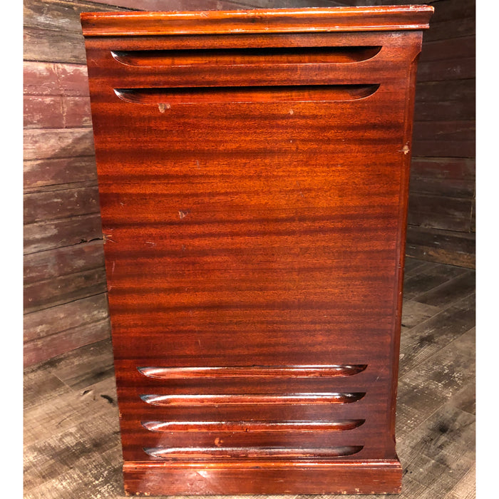 Hammond Vintage (1963) A-100 Organ and Leslie Type 145 Rotary Speaker - Red Mahogany View 6