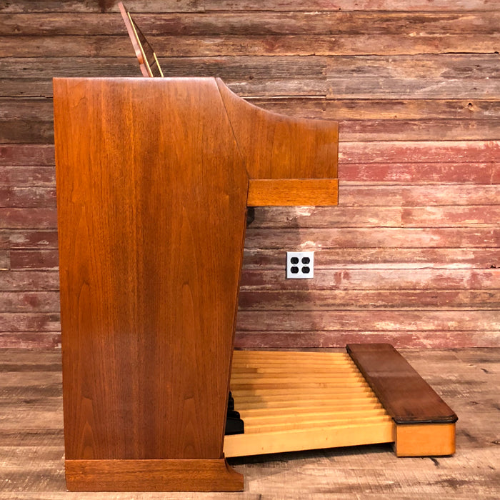 Hammond Vintage (1964) A-100 Organ and Leslie Type 145 Rotary Speaker - Mahogany View 4