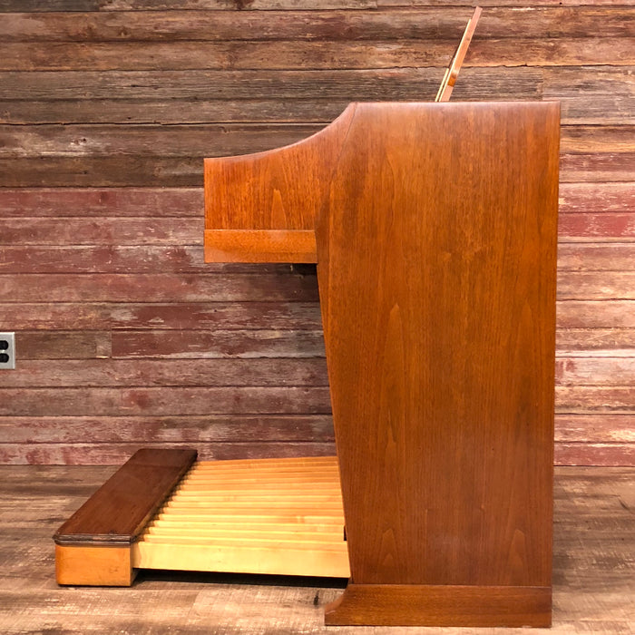 Hammond Vintage (1964) A-100 Organ and Leslie Type 145 Rotary Speaker - Mahogany View 5