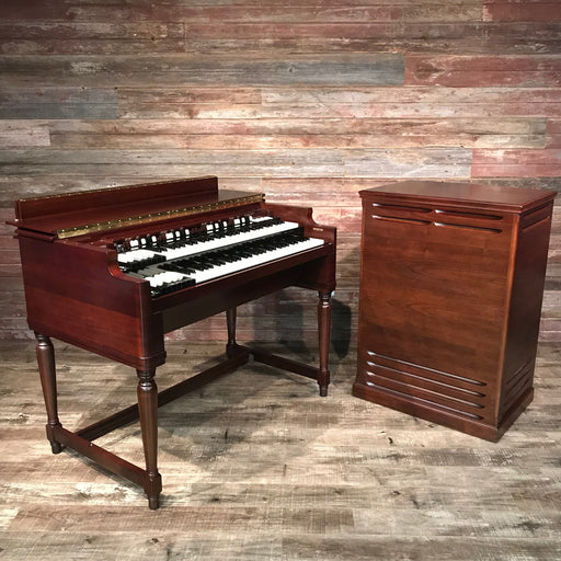 Hammond Vintage (1955) B-3 Organ and Leslie Type 122 Rotary Speaker - Dark Walnut (Bundle)