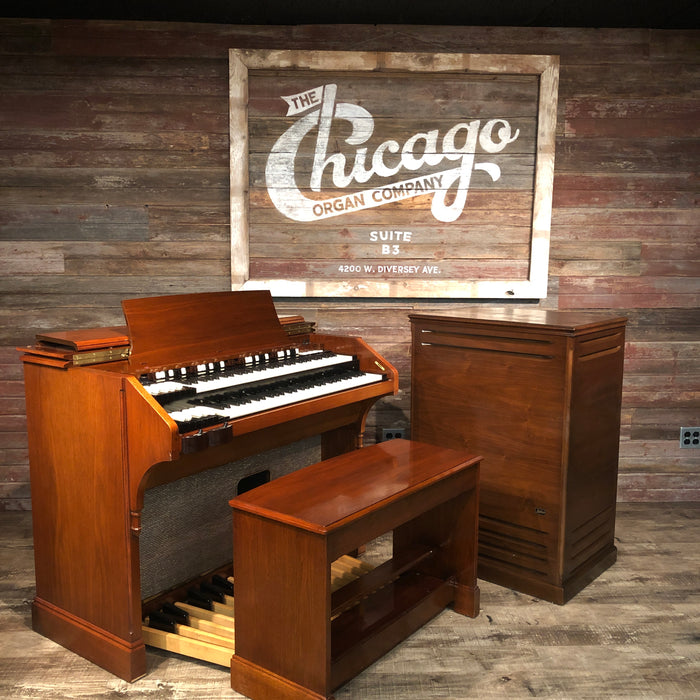 Hammond Vintage (1963) A-105 with Leslie 122A Rotary Speaker View 3