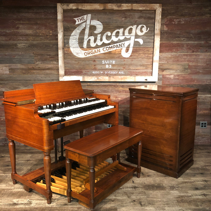Hammond Vintage (1957) B-3 Organ with Leslie 122 Rotary Speaker View 3