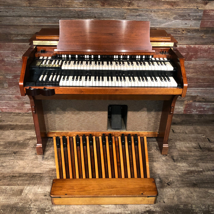 Hammond (1964) A-105 Organ with Leslie 771 Rotary Speaker View 7