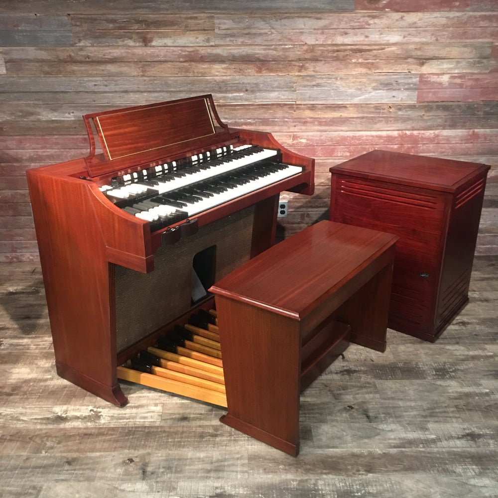 Hammond Vintage (1964) A-100 with new Leslie 3300W rotary speaker (Bundle)