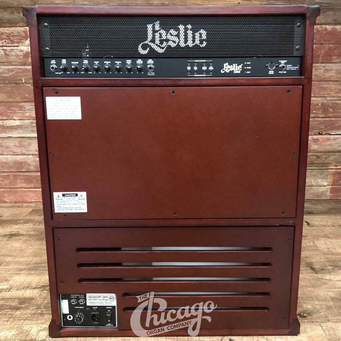 Leslie 3300W Rotary Speaker Combo Amplifier - Red Walnut (Open Box)