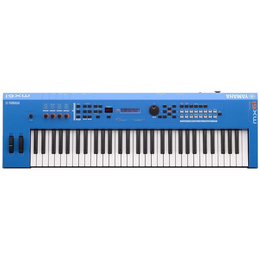Yamaha MX61BU 61-Key Synthesizer - Electric Blue (Open Box)