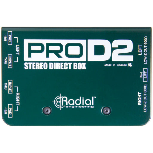 Radial ProD2 Stereo Direct Box