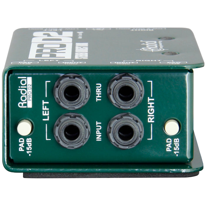 Radial ProD2 Stereo Direct Box View 4