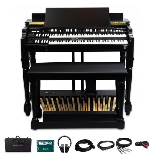 Viscount Legend Classic Joey DeFrancesco Signature Organ Bundle - with Classic Stage Pack