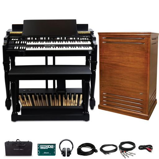 Viscount Legend Classic Joey DeFrancesco Signature Organ Bundle - with Classic Stage Pack and Leslie 981