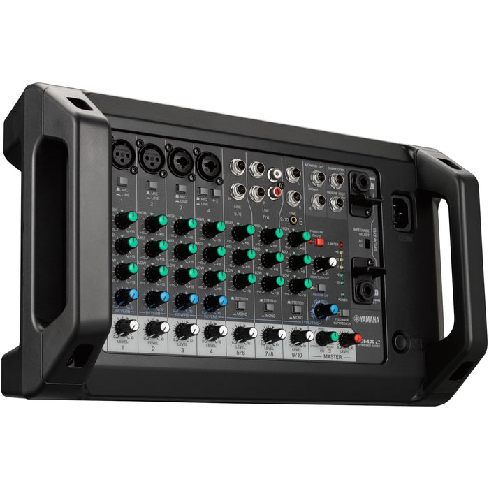 Yamaha EXM2 10-Channel 500 Watt Powered Mixer Side 2