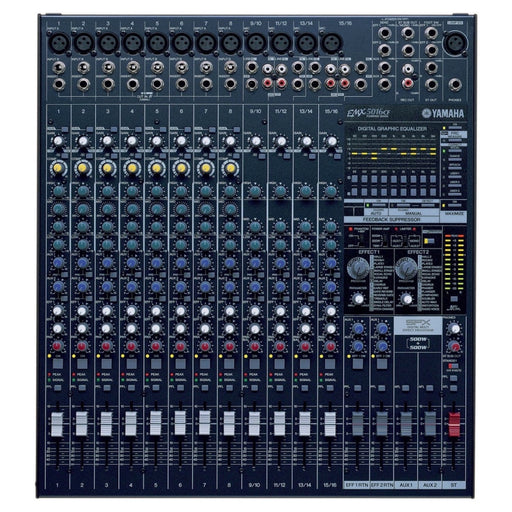 Yamaha EMX5016CF 16-channel 1000 Watt Powered Mixer