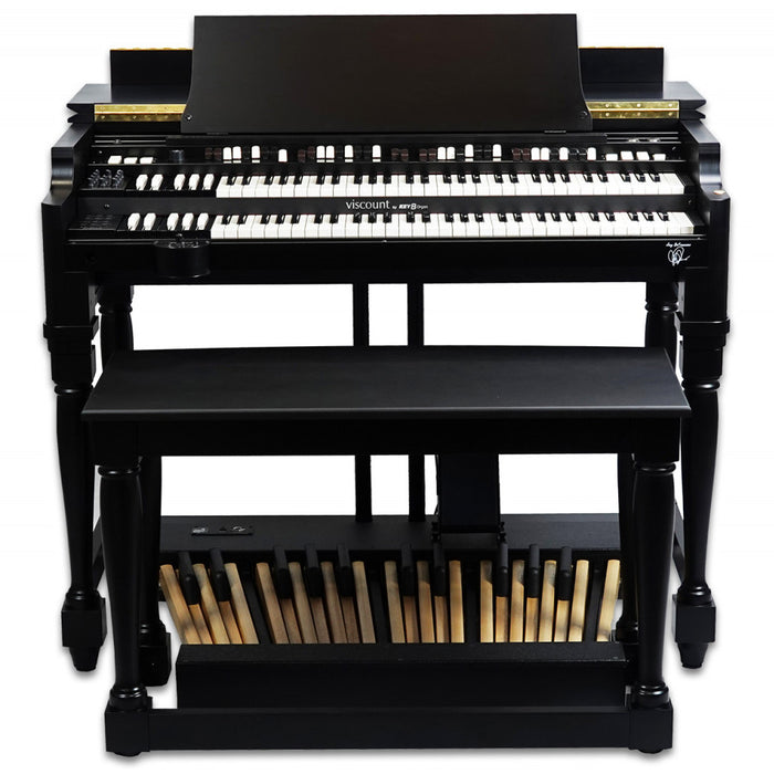 Viscount Legend Classic Joey DeFrancesco Signature Black Console Organ (Open Box)