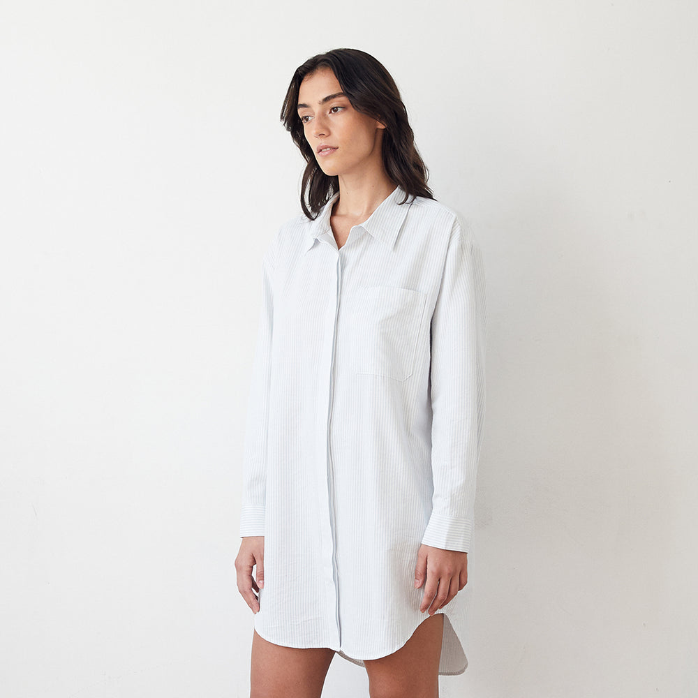 Load image into Gallery viewer, Pre-Order Mathilde Shirt Dress