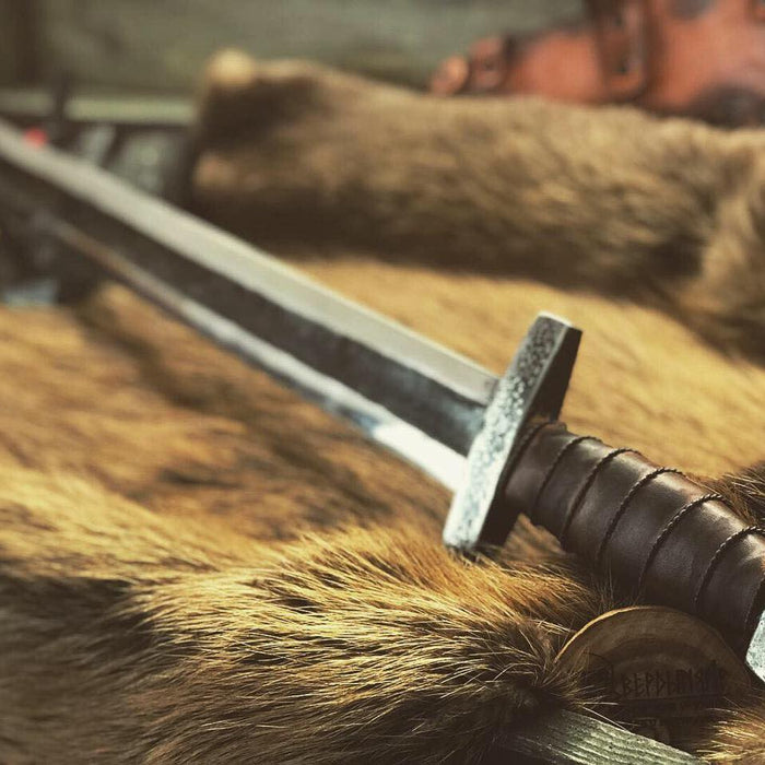 What weapons did the Vikings use?