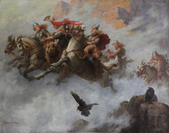 The ride of the Valkyries - Viking Style