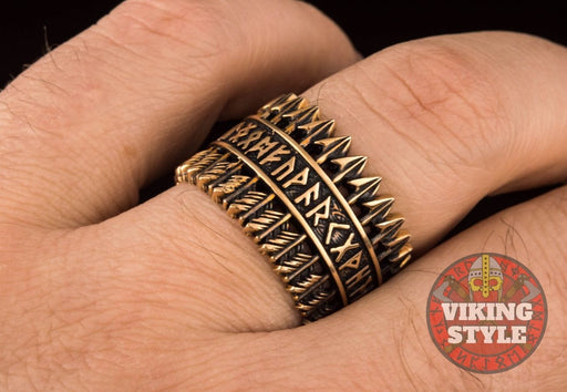 Runic Ring - Arrow, Bronze