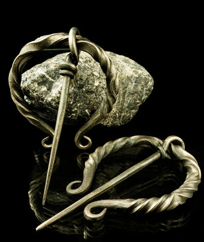 Hand Forged Viking Broach