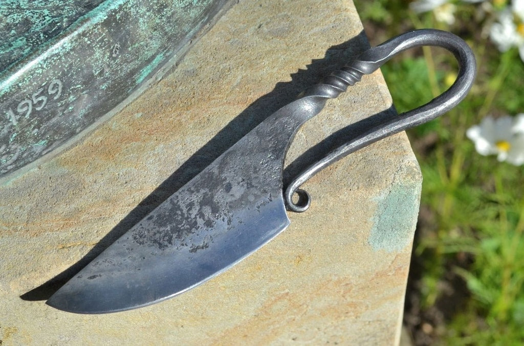Small Hand Forged Viking Knife