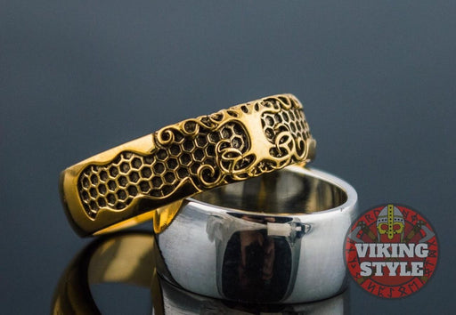 Yggdrasil Ring - Tree of Life, Gold
