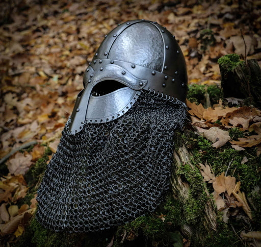 Reinforced Metal Viking Helmet