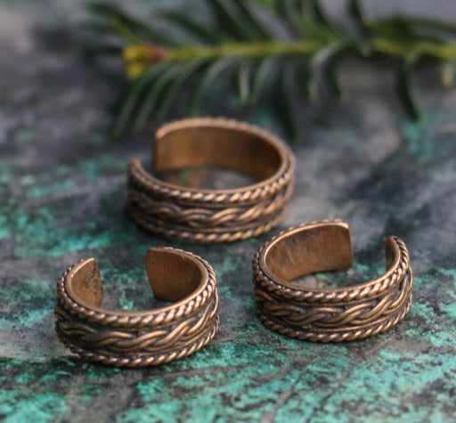 Bronze Viking Ring-VikingStyle