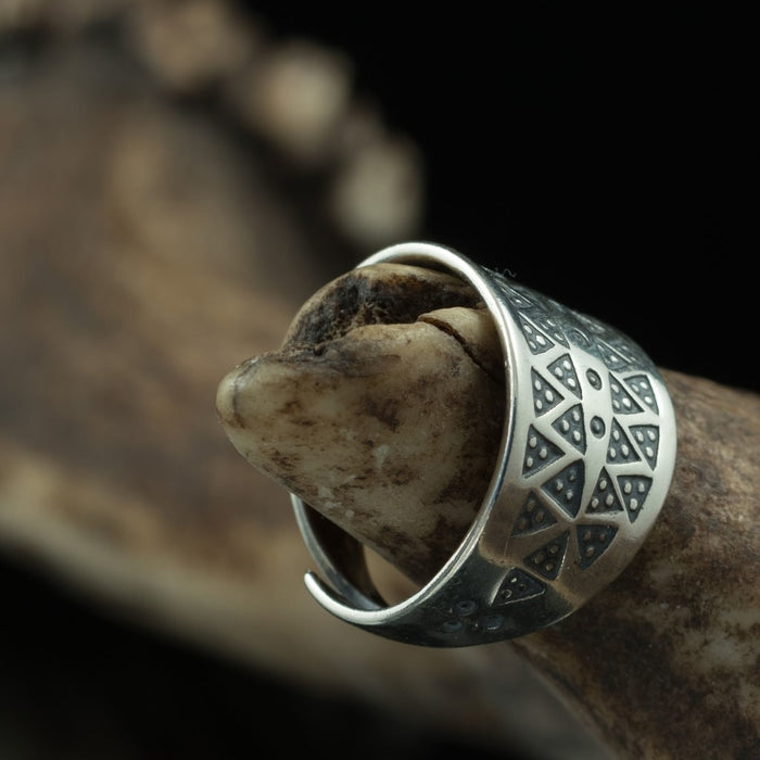 Silver Viking Ring-VikingStyle