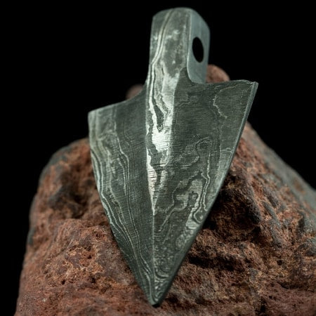 Hand Forged Arrow Head Pendant-VikingStyle