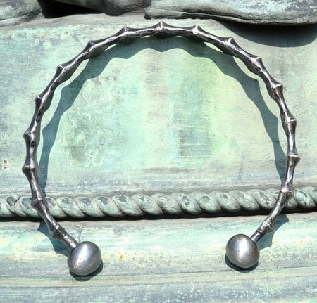 Hand Forged Neck Torc-VikingStyle