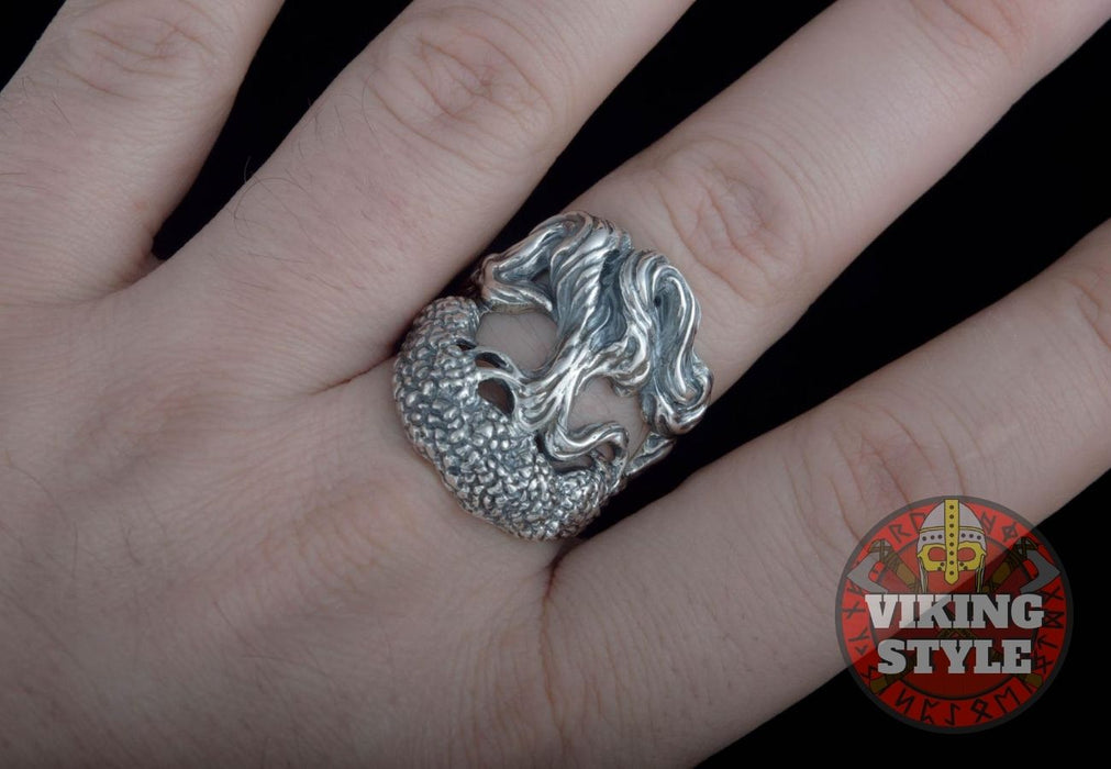 Yggdrasil Ring - Tree of Life, 925 Silver